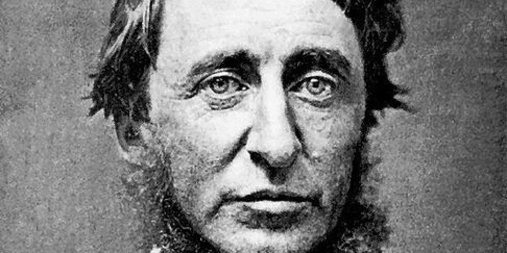 """Henry David Thoreau:""""La maggioranza degli uomini vive la propria vita in tranquilla disperazione"""""""