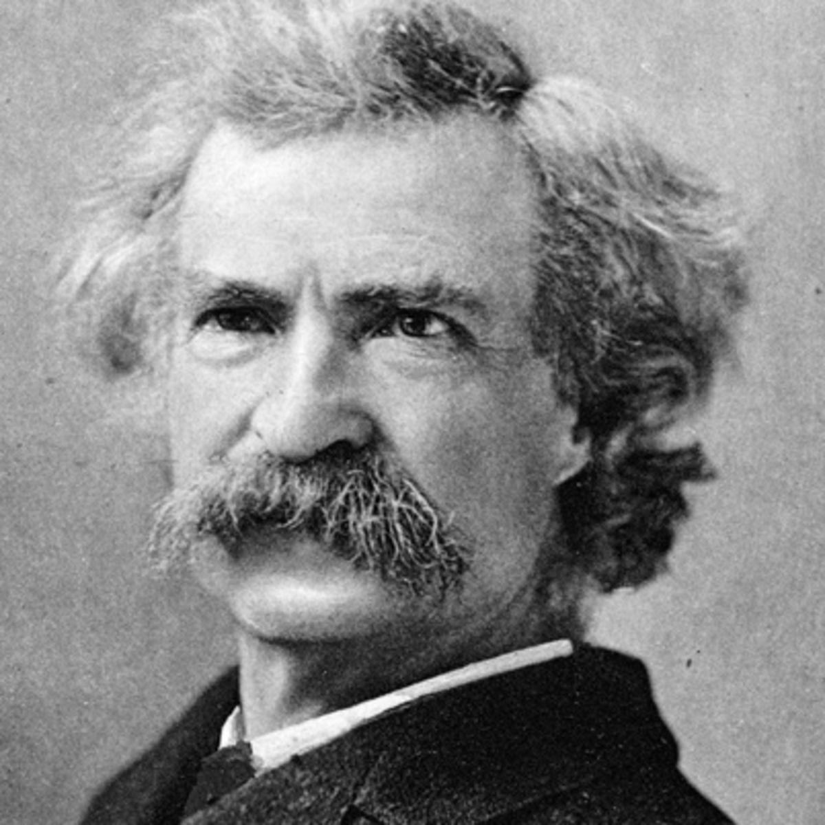 """Mark Twain: """"Sono passato attraverso momenti davvero terribili nella mia vita, alcuni dei quali sono realmente accaduti"""""""