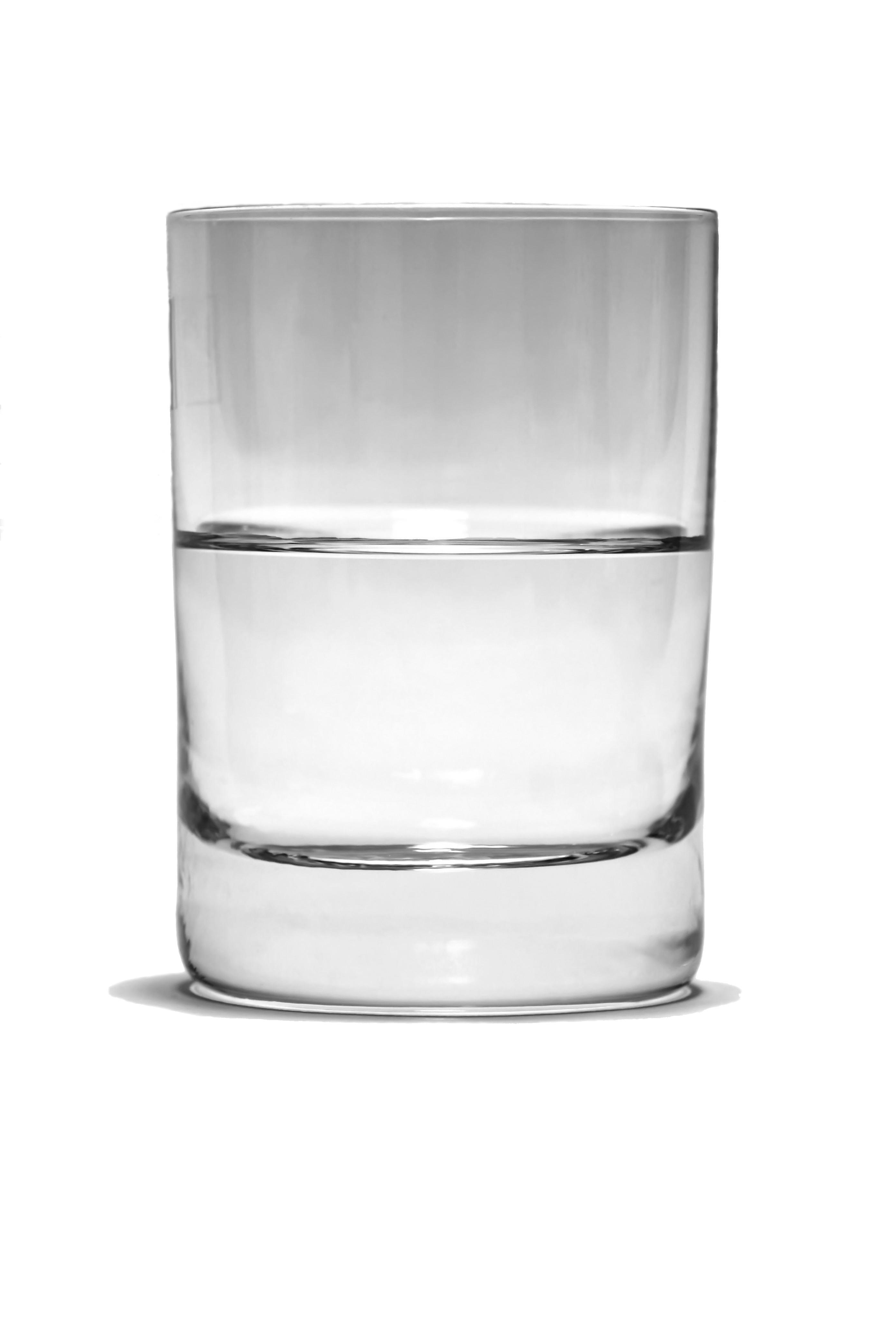 bicchiere mezzo vuoto o mezzo pieno
