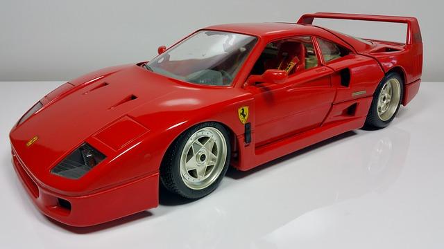 Il sogno di un qualsiasi appassionato di auto di lusso: una Rossa del Cavallino