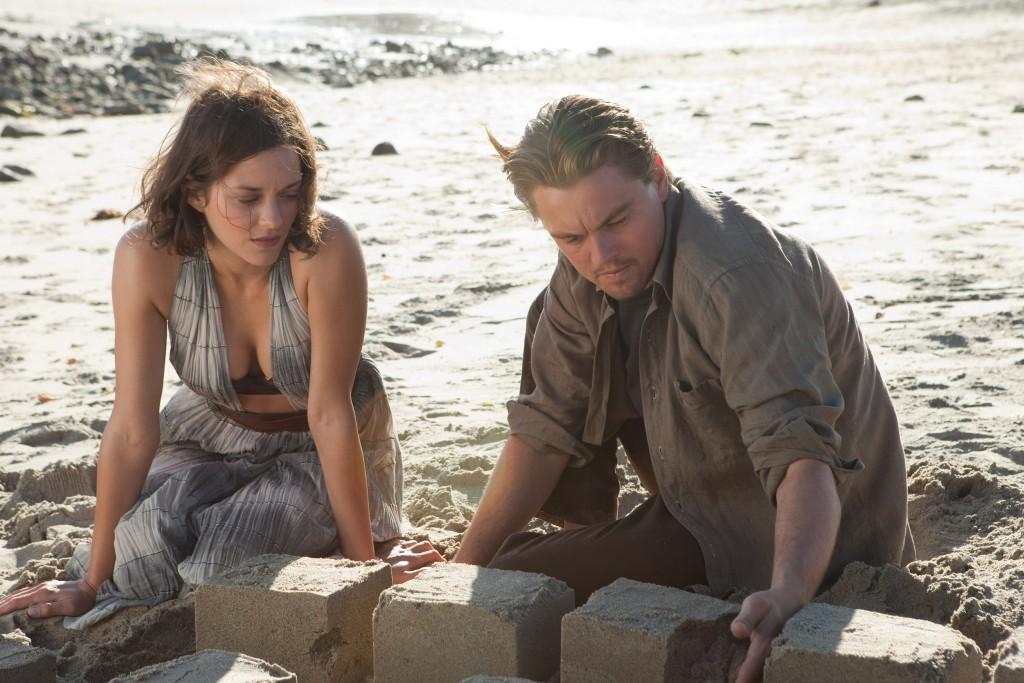 Leonardo di Caprio e Marion Cotillard in una scena di Inception.