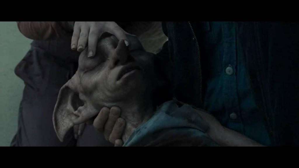 ... e la conseguente morte di Dobby