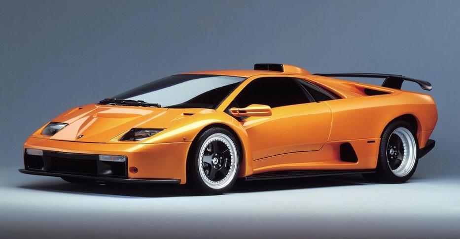 Una splendida Lamborghini Diablo GT